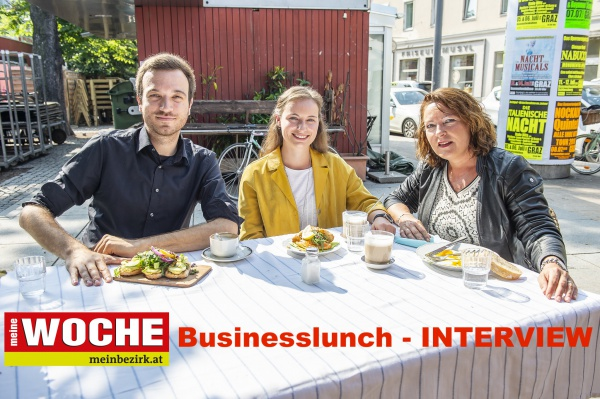 Woche Businesslunch Interview